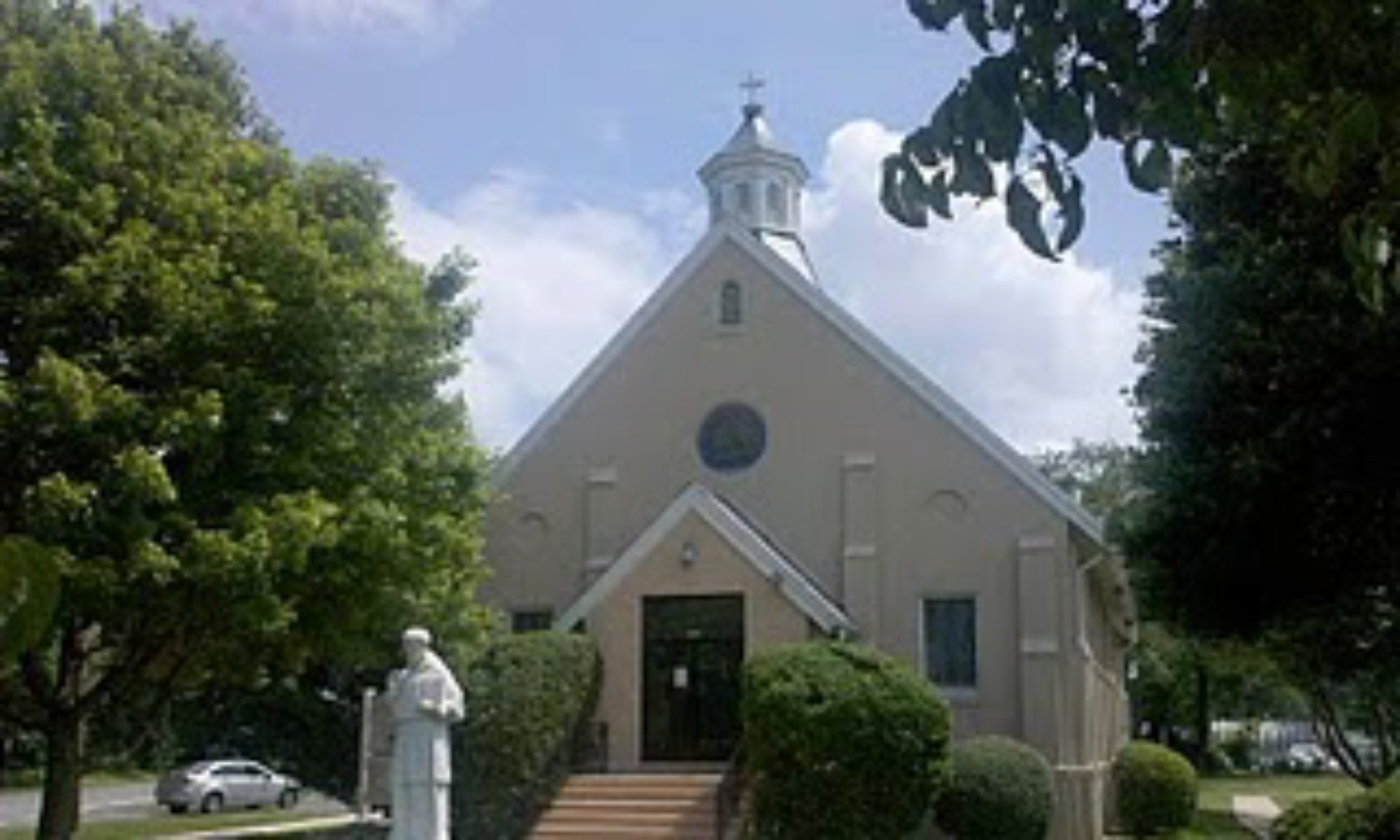Saint Francis de Sales Catholic Church in Benedict, MarylaND